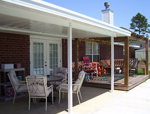 Patio Cover with pergola