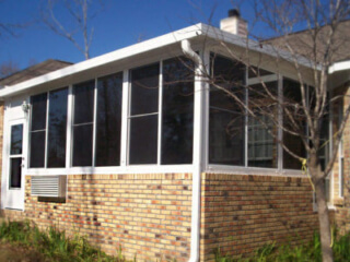 Glass room addition with electrical package
